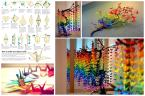 Guide Create Colorful Rainbow Diy Crane