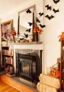 Halloween Bat Decoration Photos