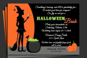 Halloween Party Invitation Ideas Invitations Templates