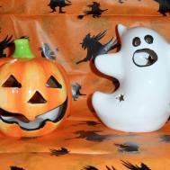 Halloween Tealight Candle Holders Pumpkin Ghost Goth Stars