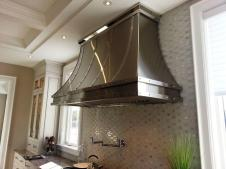 Hand Crafted Stainless Steel Range Hood