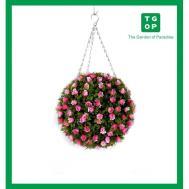 Hanging Topiary Balls Good Artificial