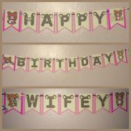 Happy Birthday Banners Diy Jerzy Decoration