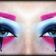 Harley Quinn Easy Halloween Makeup Tutorial Inspired