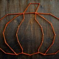 Harvest String Art Easy Fall Craft Project Had