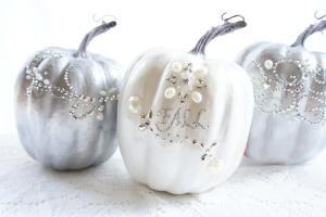Haute Healthy Living Diy Glam Pumpkins