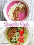 Healthy Summer Lunch Smoothie Bowls Homemade Ginger
