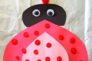 Heart Ladybug Valentines Day Craft Kids Crafty Morning