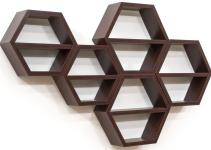 Hexagon Honeycomb Shelving Set