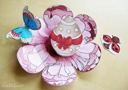 Hidden Easter Egg Surprise Pop Card Hattifant