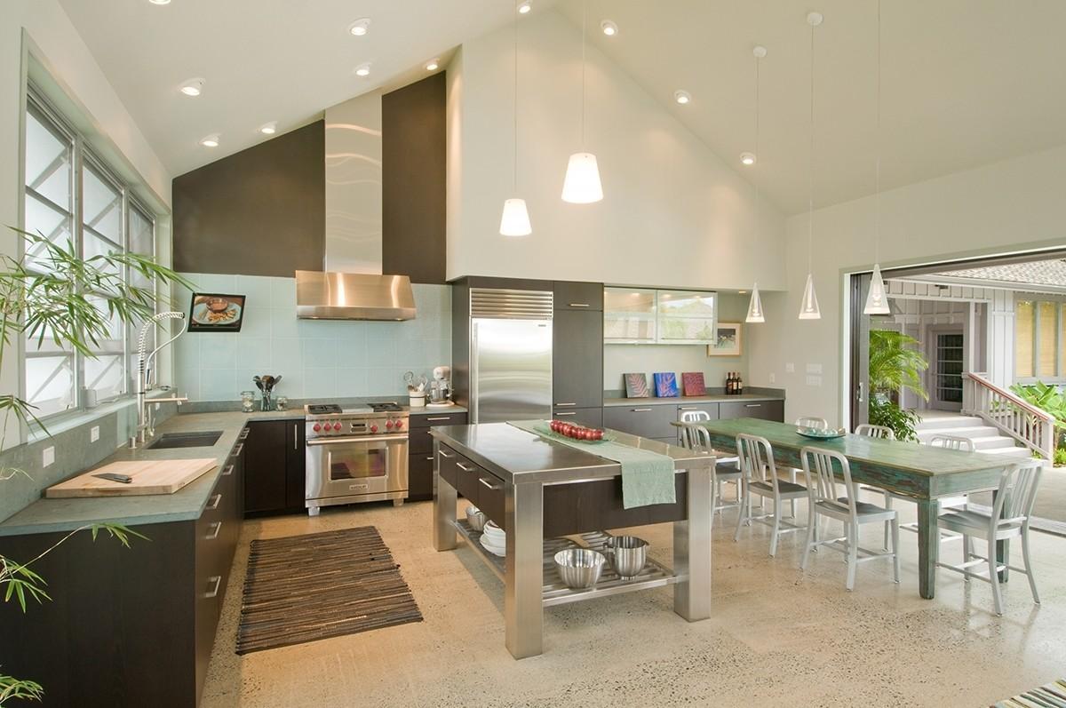 High Ceiling Kitchen Design Ideas Smith - Decoratorist - #12