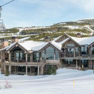 Hillside Snowcrest Ultimate Modern Rustic Ski Chalet