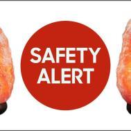 Himalayan Rock Salt Lamps Recalled Due Fire Risk