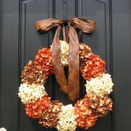 Holiday Wreath Autumn Wreaths Fall