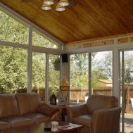 Home Building Cedar Falls Sunroom Window Ideas