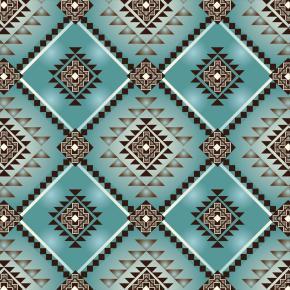 Home Decor Print Fabric Southwest Native Motifs