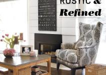 Home Decor Rustic Refined Here