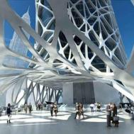 Home Design Futuristic Zaha Hadid Buildings Sunrire