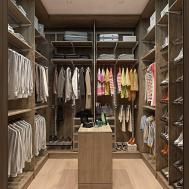 Home Designs Walk Closet Kids Friendly Apartment