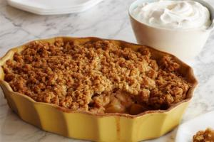 Homemade Apple Pear Crisp Easy Fall Dessert Cool