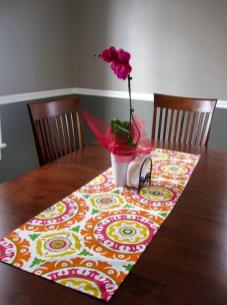 Homemade Calling Diy Table Runner