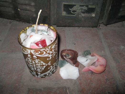 Homemade Candles Leftover Candle Wax Galaxc Girl