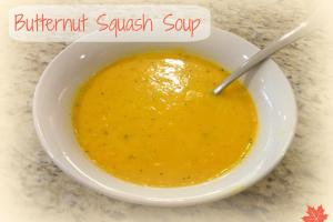 Homemade Fall Healthy Butternut Squash Soup Mom Recipe