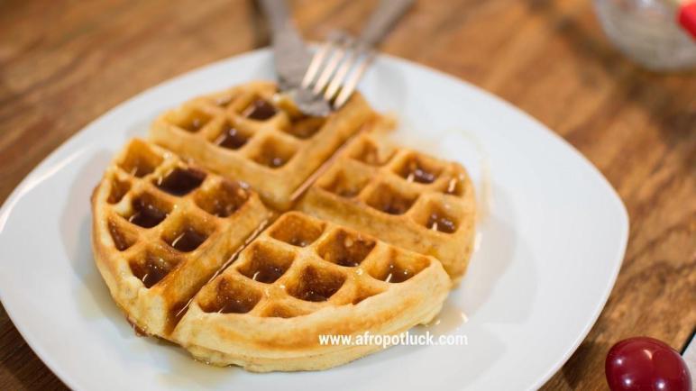Homemade Waffles Recipe Afropotluck