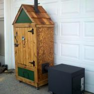 Homemade Wooden Smoker
