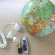 Hometalk Diy Globe Pendant
