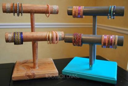 Hometalk Wooden Bracelet Holders
