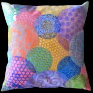 Hooked Printing Fabric Making Pillows Sew Much