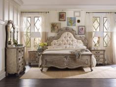 Hooker Furniture Chatelet Arched Dresser Mirror