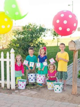 Host Kids Easter Egg Decorating Hunt Party