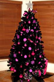Hot Pink Christmas Tree Decorations Decore