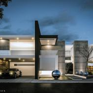 House Architecture Modern Facade Contemporary Design