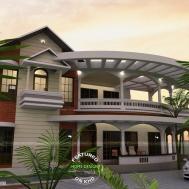 House Balcony Front Joy Studio Design