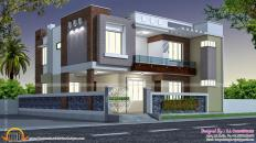 House India Home Design Modern Style Indian Square Feet