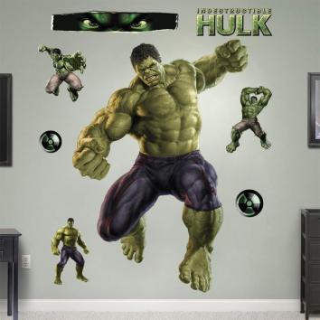 Hulk Wall Sticker Avengers Removable Hero Art Decor Decal