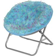 Idea Nuova Rock Your Room Spiker Faux Fur Saucer Papasan