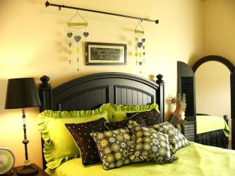 Ideas Brianna Green Black Bedroom