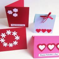 Ideas Easy Beautiful Homemade Valentine Cards