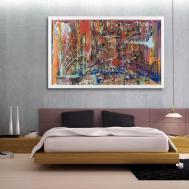 Ideas Oversized Abstract Wall Art