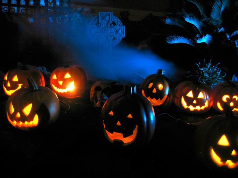 Ideas Scary Halloween Horror Nights Lights Effects