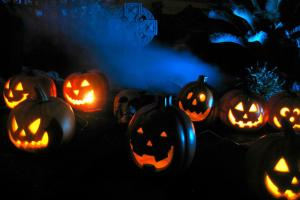 Ideas Scary Halloween Horror Nights Lights Effects