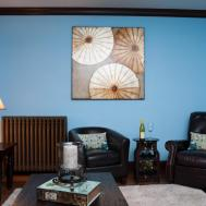 Incredible Blue Living Room Wall Paint Ideas Combine