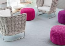 Indoor Chair Paola Lenti Ami Motiq Home