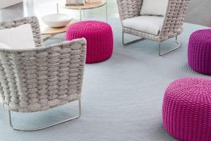 Indoor Chair Paola Lenti Ami Motiq Home