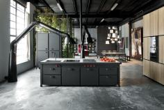 Industrial Style Kitchens Make Fall Love