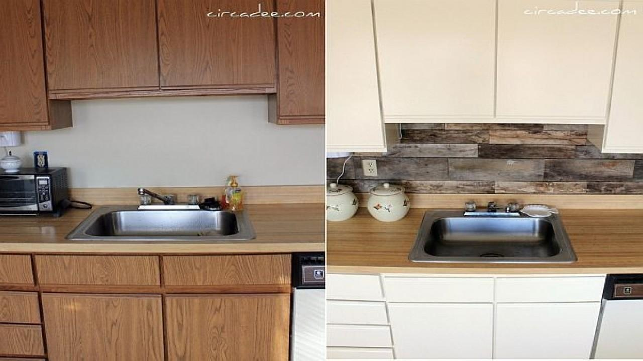 - Beautifully Cheap Diy Rustic Kitchen Backsplash That You Should